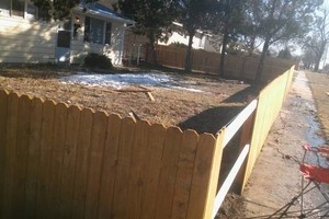 Photo #2: Fencing & Landscaping. Low Rates!