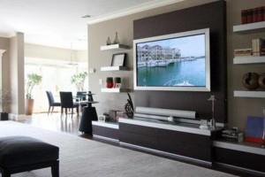 Photo #4: Pierce Electronics. WE HANG BIGSCREEN TVS...