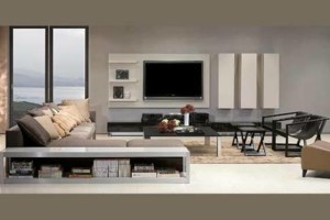 Photo #1: Pierce Electronics. WE HANG BIGSCREEN TVS...