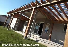 Photo #1: All Access Fence. Professional Fence & Pergola Installation