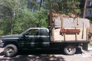 Photo #4: TREE & BRUSH REMOVAL, HAULING, FIREWOOD, RENTAL CLEANOUTS