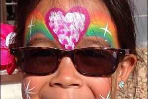 Photo #3: Face Painter And Glitter Tattoos