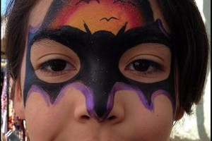 Photo #2: Face Painter And Glitter Tattoos