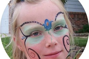 Photo #1: Face Painter And Glitter Tattoos