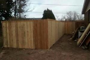 Photo #1: Broken fence posts? Call!