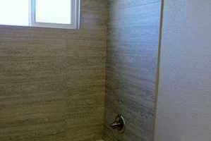 Photo #3: Action Shower Pan. Tile Installer/Bathroom Remodeling...