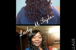 Photo #2: Hair By Maisha (licensed cosmetologist)