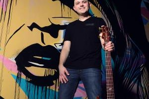 Photo #1: Upright and Electric Bass Lessons w/ Colin Trusedell