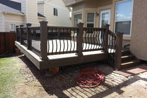 Photo #4: Great deals on decks, pergolas, basements, fences etc.