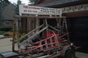 Photo #1: Doorman Door Service. WINDOWS, DOORS, & SIDING. Professional Installation and Repairs