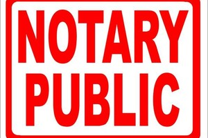 Photo #1: Notary fax, copy service