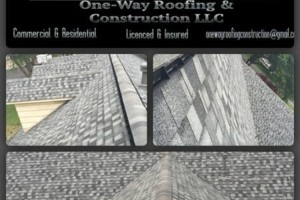 Photo #1: One-Way Roofing & Construction