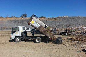 Photo #1: Sellman's Outdoor Services. Property Clean-outs & Junk Hauling