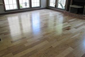 Photo #7: LONESTAR HARDWOOD FLOORS - sand and finish/new install