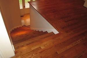 Photo #6: LONESTAR HARDWOOD FLOORS - sand and finish/new install