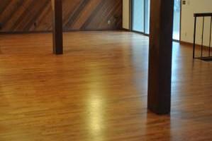 Photo #1: LONESTAR HARDWOOD FLOORS - sand and finish/new install