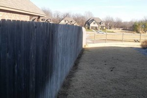 Photo #5: Fence stain and build by Scott