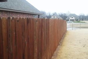 Photo #6: Fence stain and build by Scott