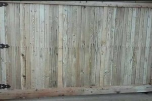 Photo #8: Fence stain and build by Scott