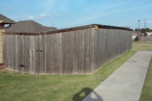 Photo #10: Fence stain and build by Scott
