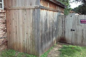 Photo #15: Fence stain and build by Scott