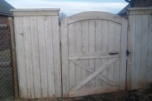 Photo #17: Fence stain and build by Scott
