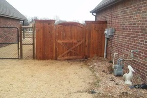 Photo #18: Fence stain and build by Scott