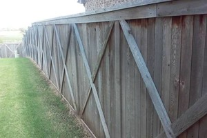 Photo #19: Fence stain and build by Scott