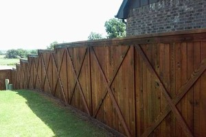 Photo #20: Fence stain and build by Scott