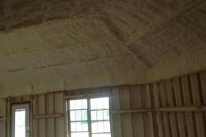Photo #1: Spray Foam Insulation. Large Job Discounts!