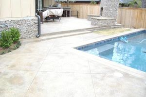 Photo #11: Neighbor's Decorative Concrete