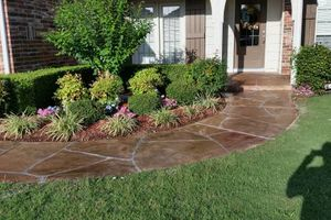 Photo #10: Neighbor's Decorative Concrete