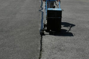 Photo #6: Kingdom Paving. Asphalt crack repairs
