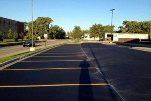 Photo #1: Kingdom Paving. Asphalt crack repairs