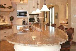 Photo #6: Kitchen & bathroom cabinets and Granite countertops