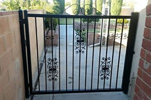 Photo #4: Art's Portable Welding, wrought iron fence and gate repair