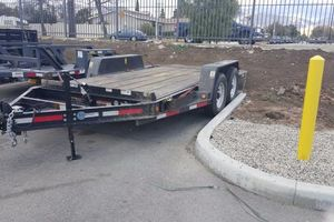 Photo #2: Transportation service by trailer is 16 ft long. $3-5 per mile