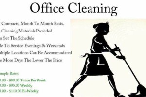 Photo #1: No Contract Facility Business / Corporate Commercial Cleaning Service