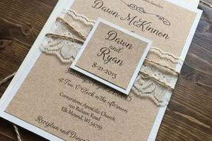 Photo #4: WEDDING INVITATIONS