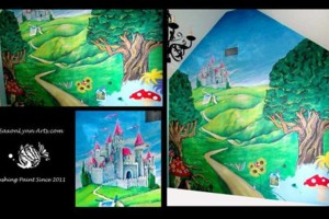 Photo #2: Professional Mural Painting Services! Contact us Today for a quote!