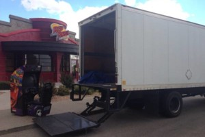 Photo #2: Movers available 24/7 truck and 2 men w/ lift gate blankets and tax...
