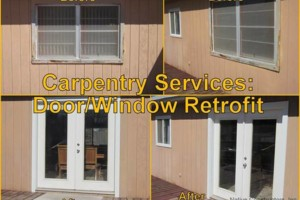 Photo #7: All types of remodels, carpentry, drywall, concrete & handyman
