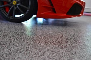 Photo #18: Rubber Surfaces, Epoxy Floor Coatings, Concrete Repair & Resurfacing