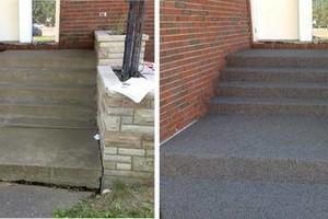 Photo #15: Rubber Surfaces, Epoxy Floor Coatings, Concrete Repair & Resurfacing