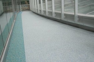 Photo #14: Rubber Surfaces, Epoxy Floor Coatings, Concrete Repair & Resurfacing