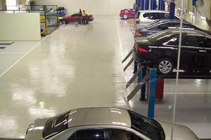 Photo #7: Rubber Surfaces, Epoxy Floor Coatings, Concrete Repair & Resurfacing