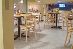 Photo #6: Rubber Surfaces, Epoxy Floor Coatings, Concrete Repair & Resurfacing