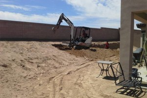 Photo #5: Fernandez Construction. Concrete driveway and yard landscaping