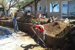 Photo #4: Fernandez Construction. Concrete driveway and yard landscaping