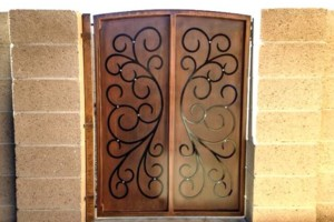 Photo #3: Mad Fabrications. Gates, Fencing, Welding, Wrought Iron
